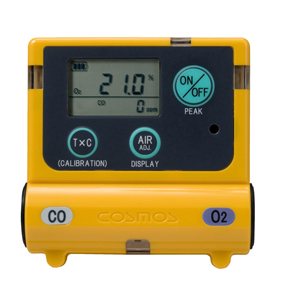 酸素・一酸化炭素計