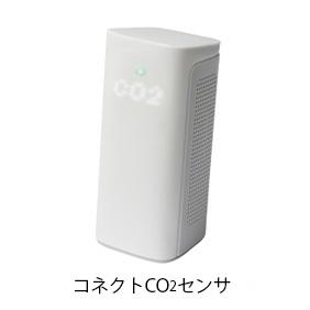三密おしらせシステム 換気予報(コネクトCO2センサ/コネクトセルラー)
